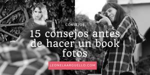 15 consejos antes de hacer un book fotos