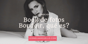 book de fotos boudoir