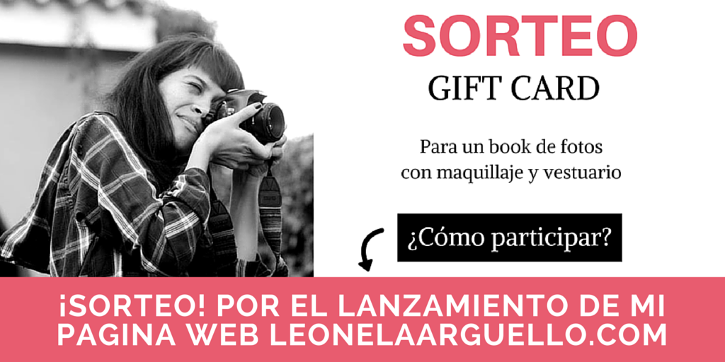 Sorteo book de fotos