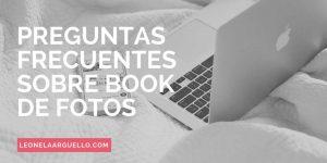 preguntas frecuentes sobre books de fotos en cordoba