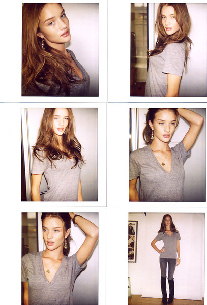 ejemplo foto polaroid de modelo