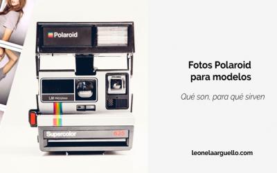 Fotos Polaroid para modelos