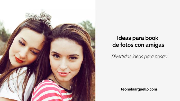 ideas book de fotos amigas