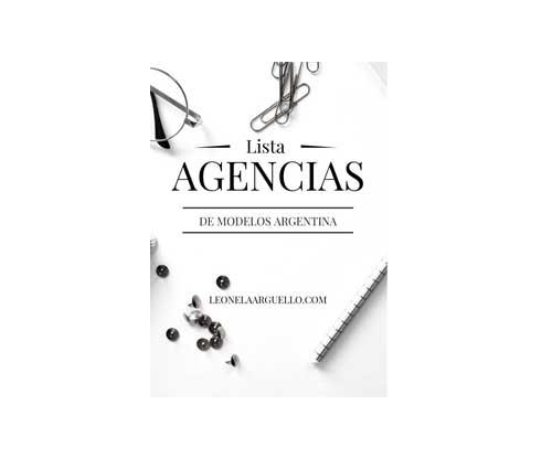 lista agencias modelos