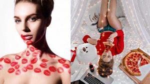ideas para books de fotos en san valentin
