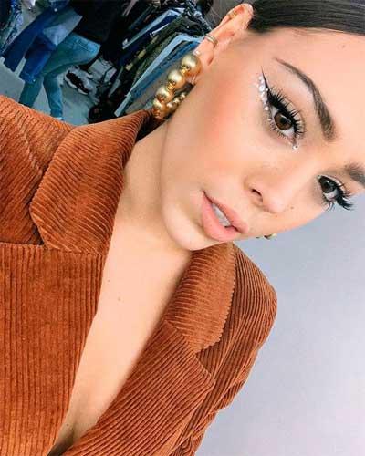 maquillaje danna paola tendencia 2020