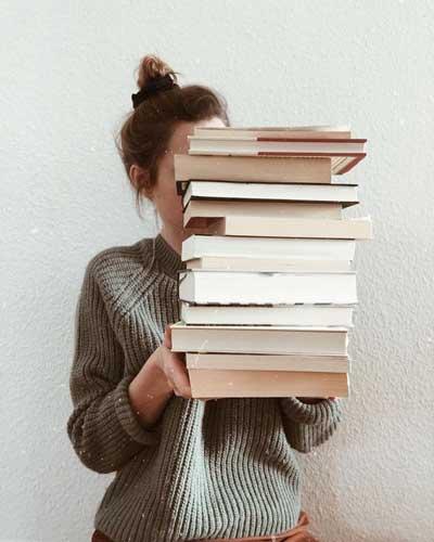 poses para fotos libros