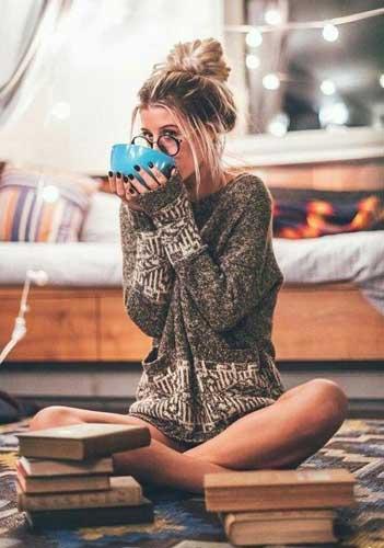 poses para fotos en casa invierno