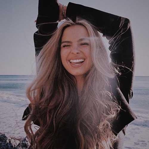 ideas de poses fotograficas sonriendo